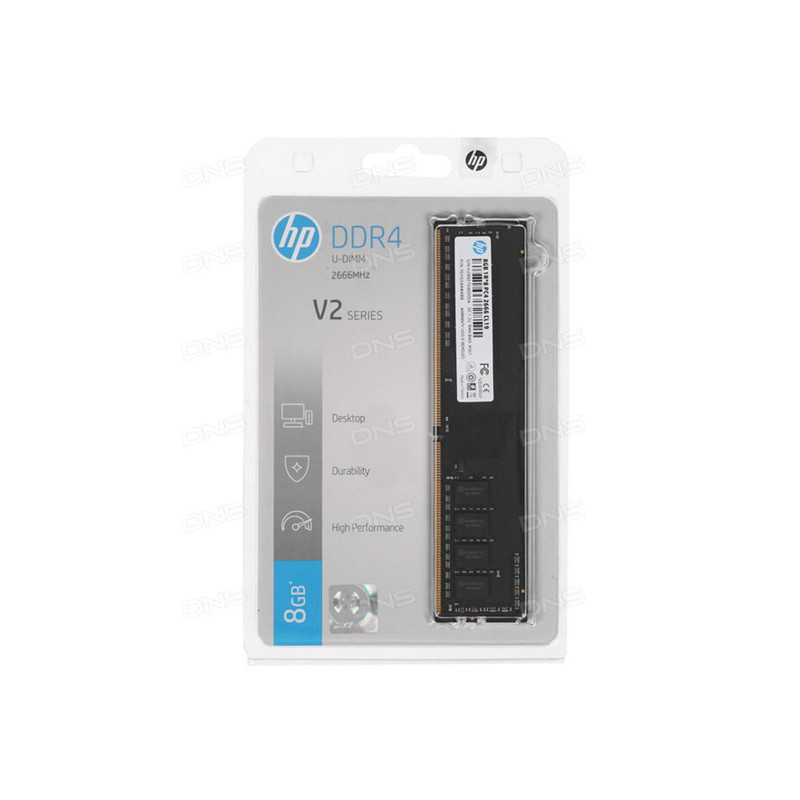 HP V2 2666 MHz U-DIMM 1Rx8 8GB
