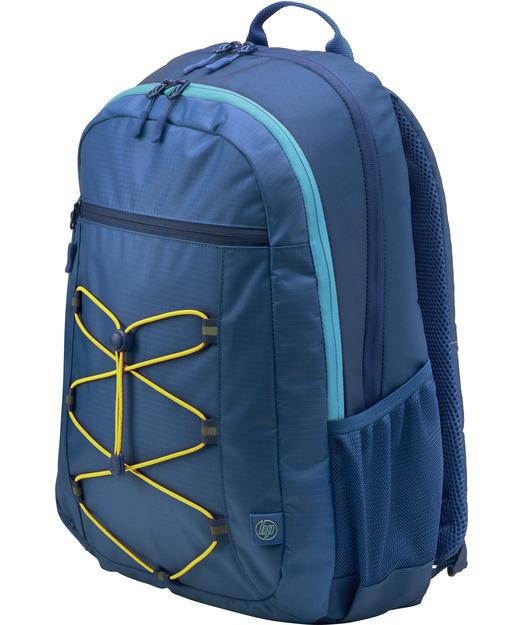 HP Active Backpack 15.6 Navy Blue-Yellow /1LU24AA
