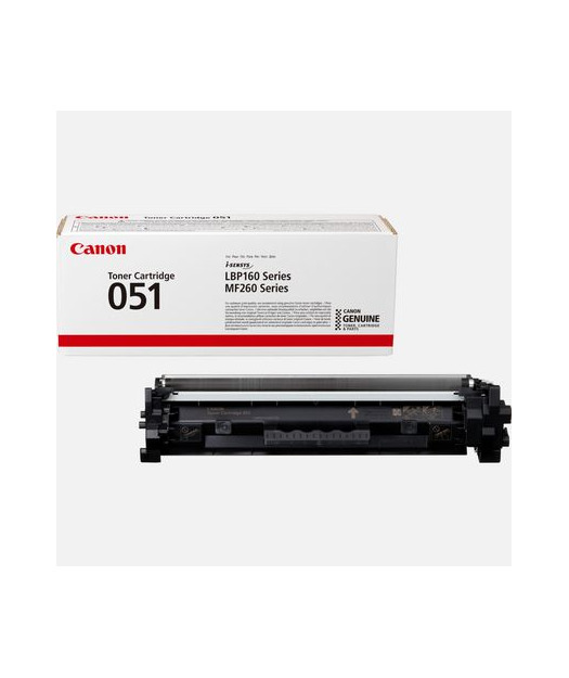 Canon CRG-051 BK Toner kartuş 2168C002
