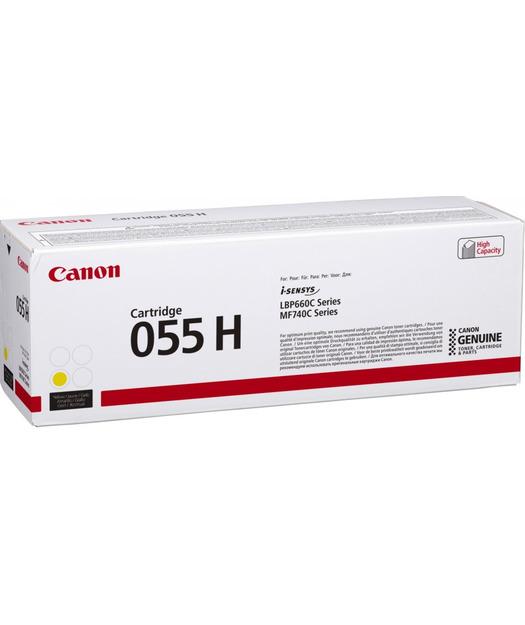 Canon CRG-055H Yellow Toner K. 3017C002