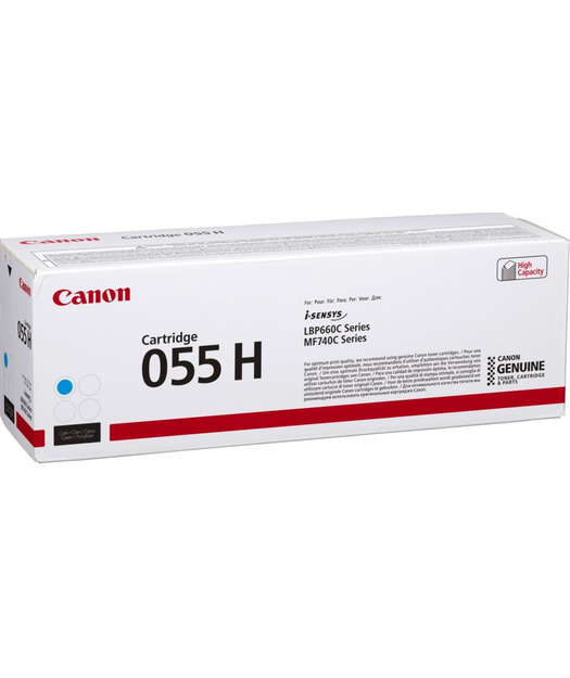 Canon CRG-055H Cyan Toner K. 3019C002