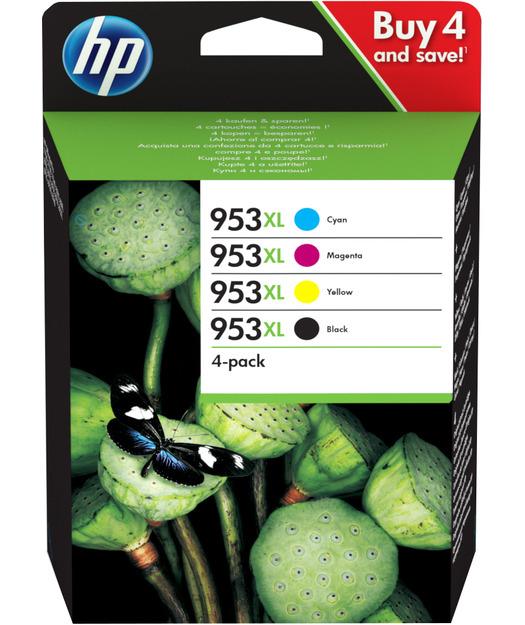 HP 3HZ52AE CMY BK 4lü Mürekkep Kartul (953XL)
