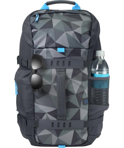 HP 15.6 Odyssey Sport Backpack Faset Gri