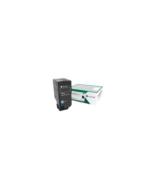 Lexmark 74C50C0 CS720, CS725, CX725 Cyan Return Programme Toner Cartridge