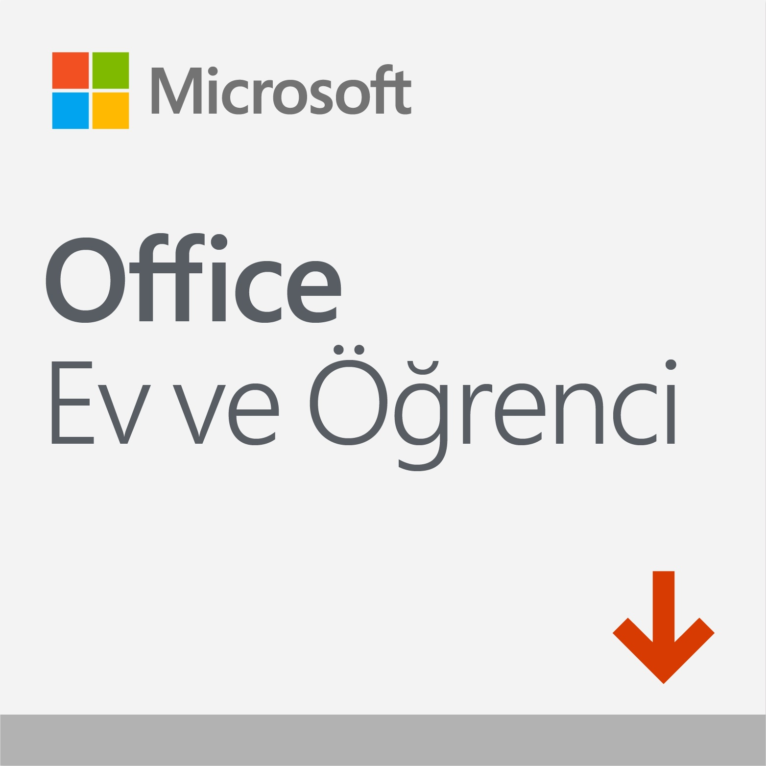 Microsoft Ev ve Öğrenci 2019-Elkt. Lisans