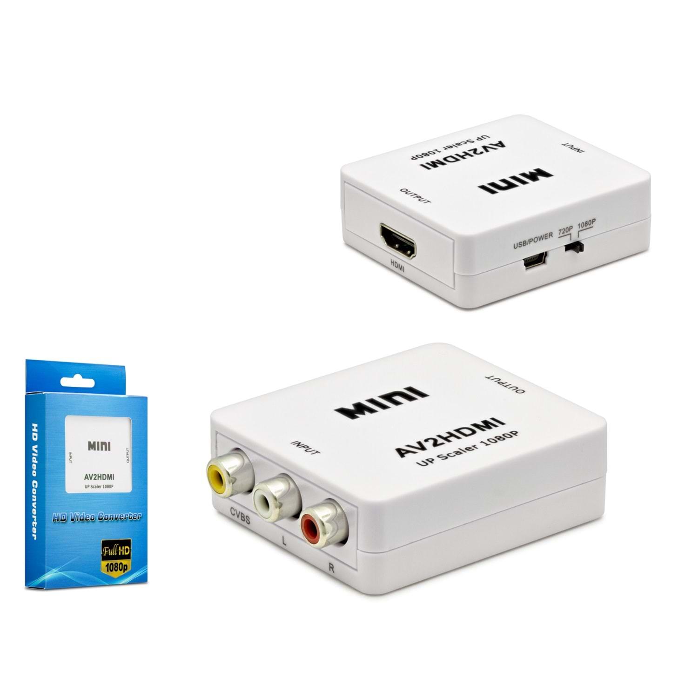 HADRON HN4466 ÇEVİRİCİ AUDIO RCA TO HDMI