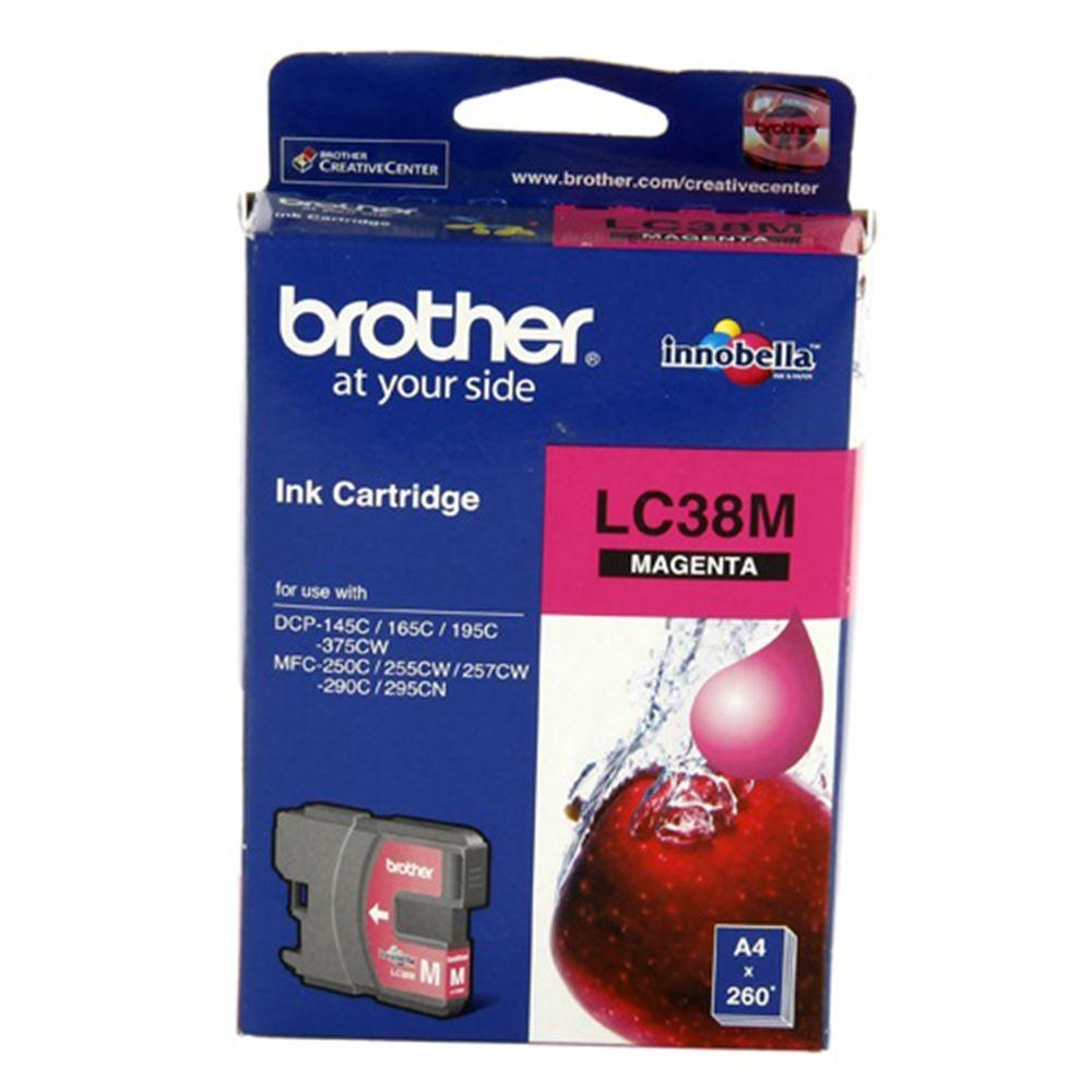 Brother Lc38M Kırmızı Mürekkep