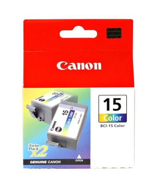 Canon BCI-15 CMY Mürekkep K. 8191A002