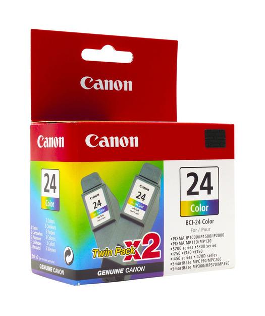 Canon BCI-24 CMY Mürekkep Kartuş (2li)