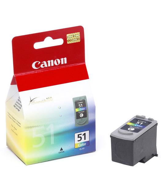 Canon CL-51 CMY Mürekkep K. 0618B001