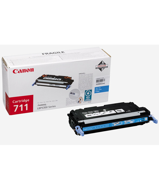 Canon CRG-711C Toner K. 1659B002