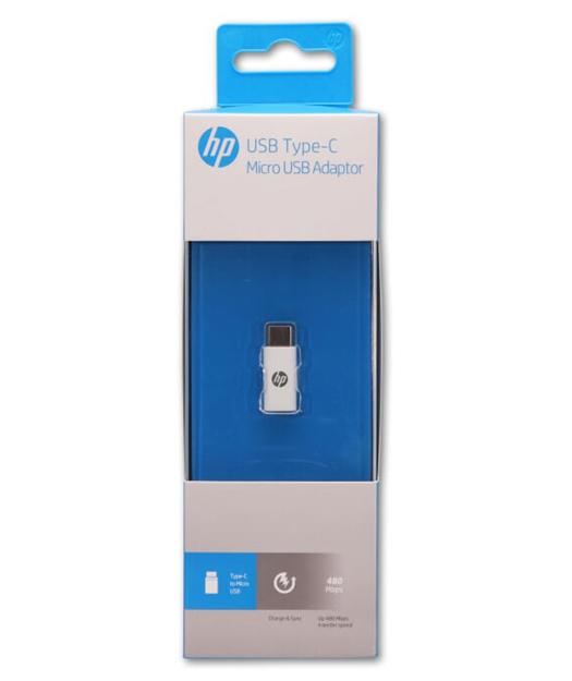 HP USB-C to Micro USB Adaptör Beyaz