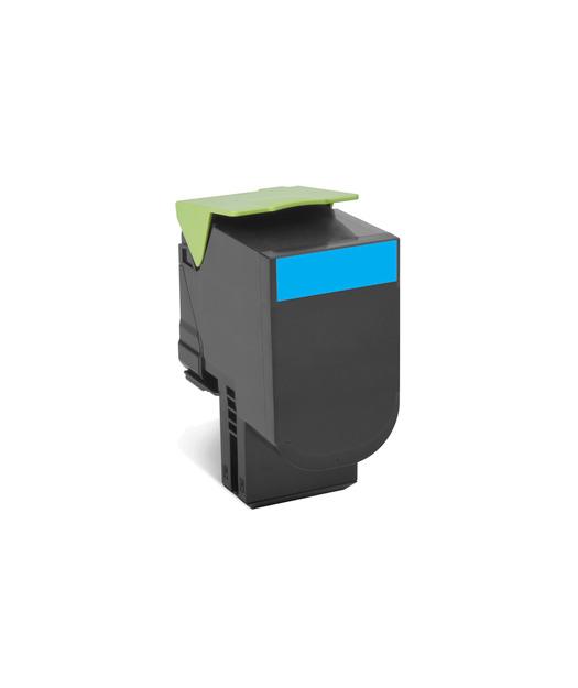 Lexmark 70C8HC0 Mavi Return Toner 3000 Sayfa