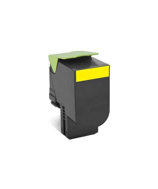 Lexmark 80C8XY0 Sarı Return Toner 4000 Sayfa