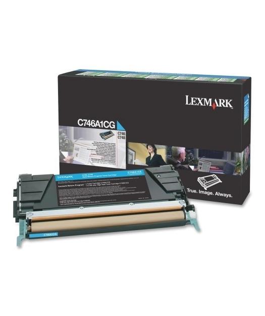 Lexmark C746A1CG Mavi Toner C746/748 (7K)