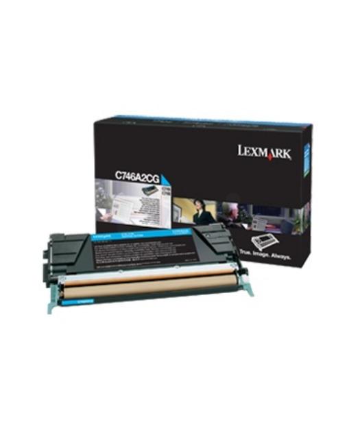 Lexmark C746A3CG Cyan Toner C746/748 (7K)
