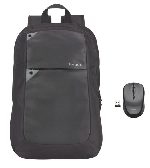 TARGUS Notebook Sırt Çantası + Kablosuz Mouse