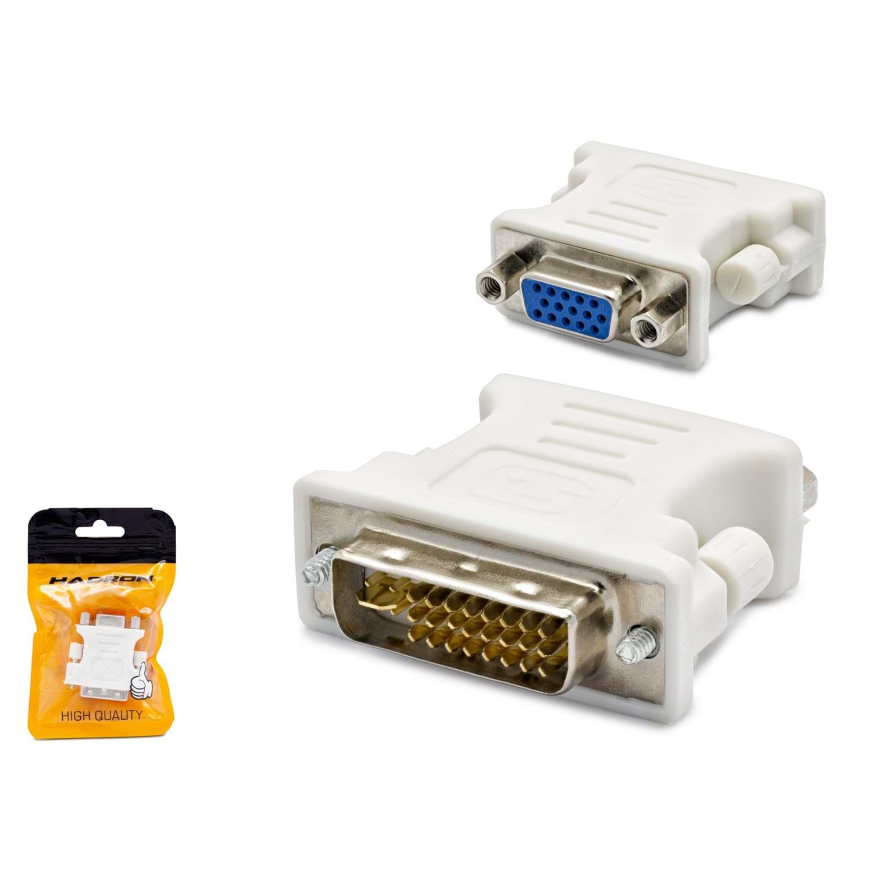 HADRON HN4002 ADAPTÖR ÇEVİRİCİ DVI TO VGA M/F 24+5