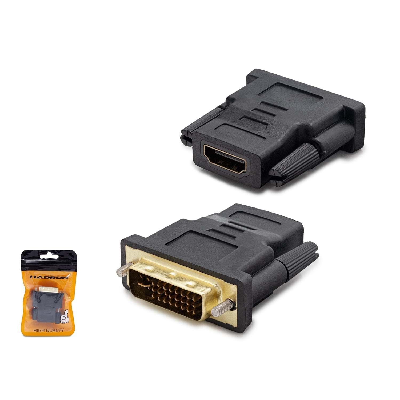 HADRON HN4401 ADAPTÖR ÇEVİRİCİ DVI TO HDMI M/F 24+5