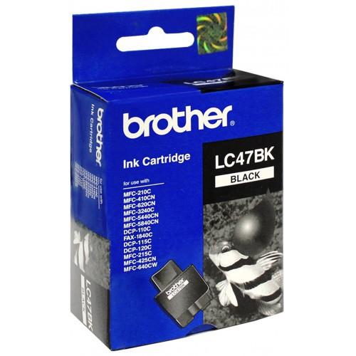 Brother Lc47Bk Siyah Mürekkep