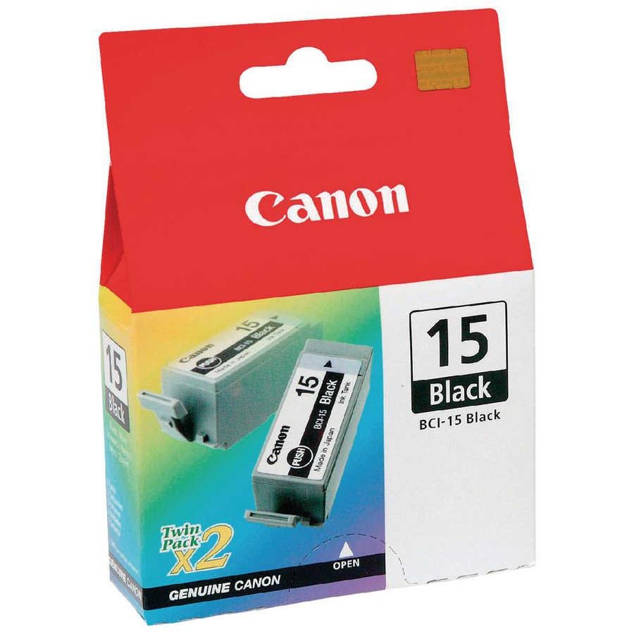 Canon BCI-15 BK 2li Mürekkep K. 8190A00