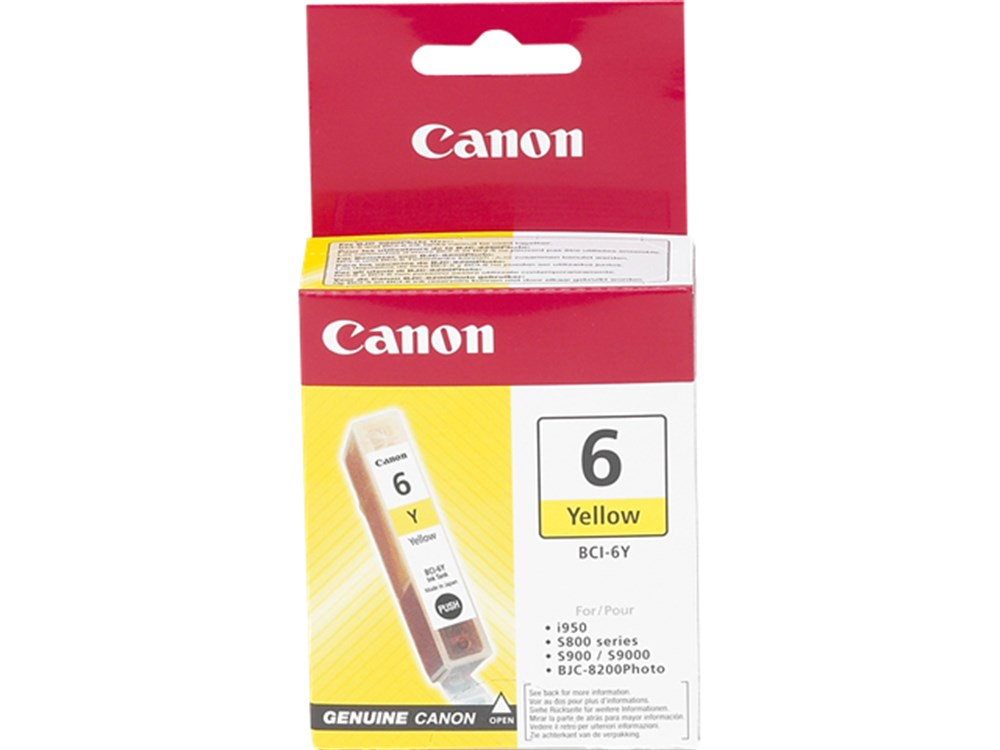 Canon BCI-6 Y Mürekkep Kartuş 4708A002