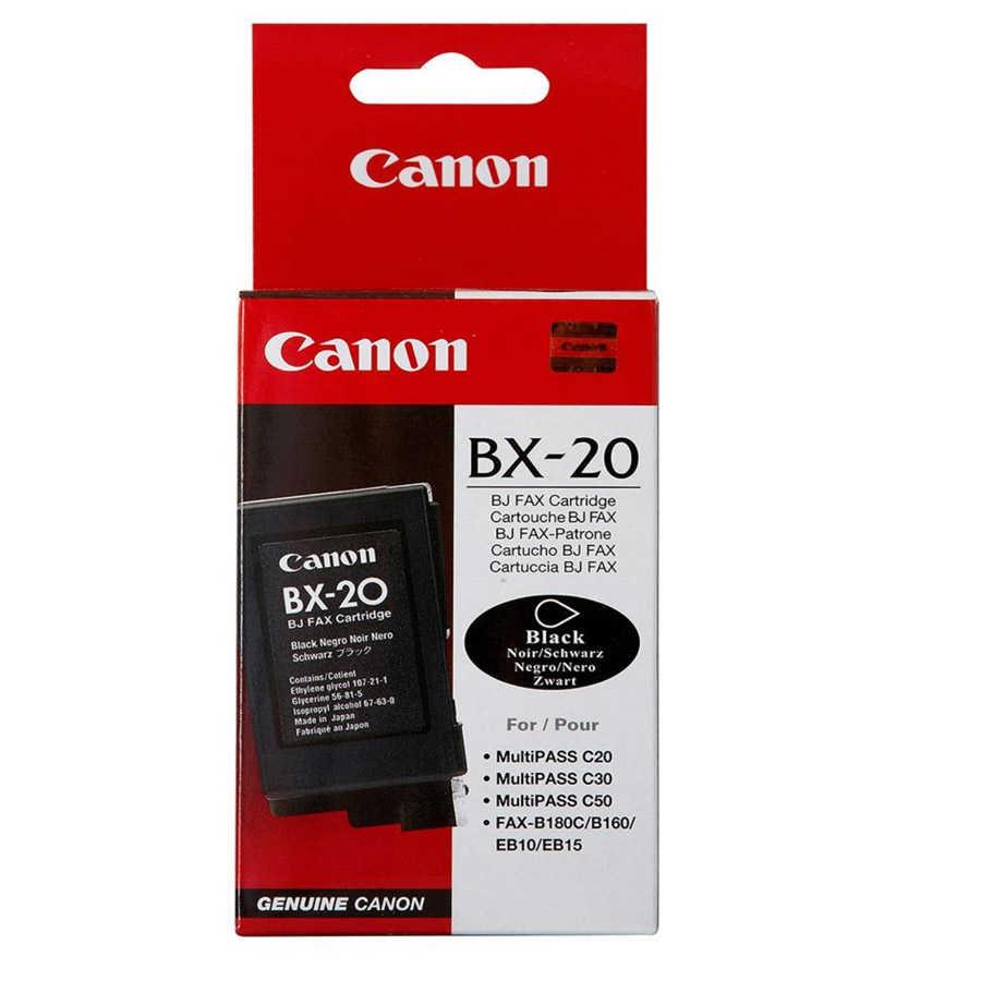 Canon BX-20 Mürekkep K. 0896A002 (BC-20 yerine gelen)