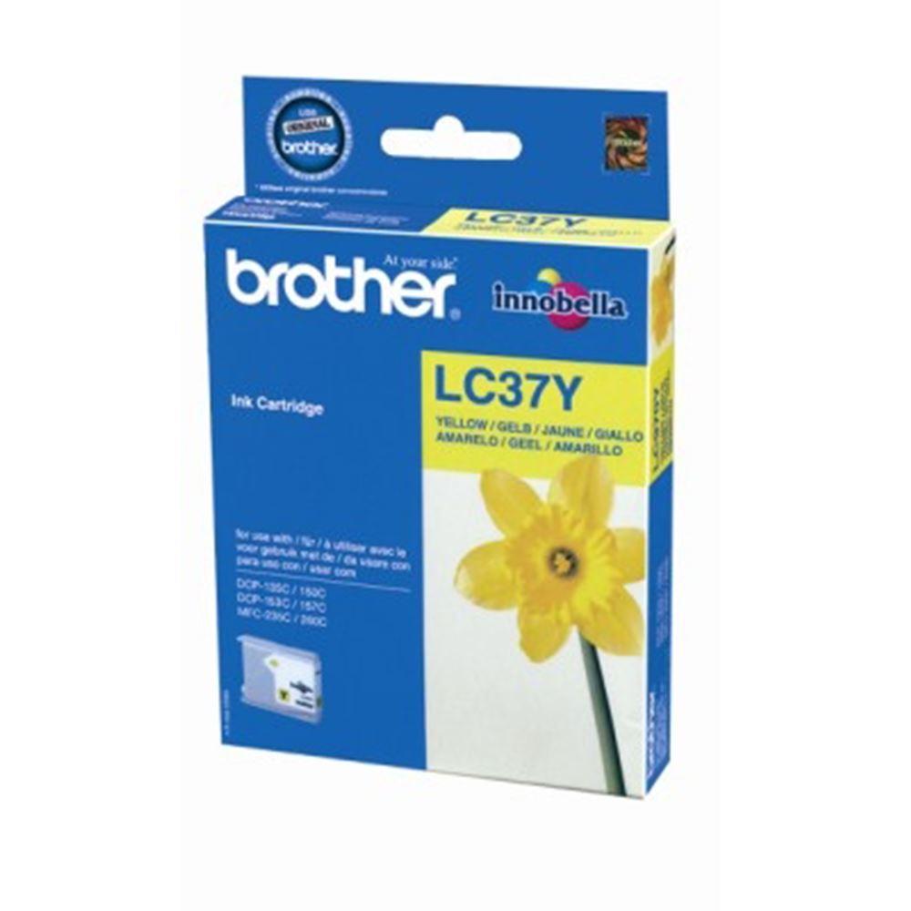 Brother Lc37Y Sarı Mürekkep
