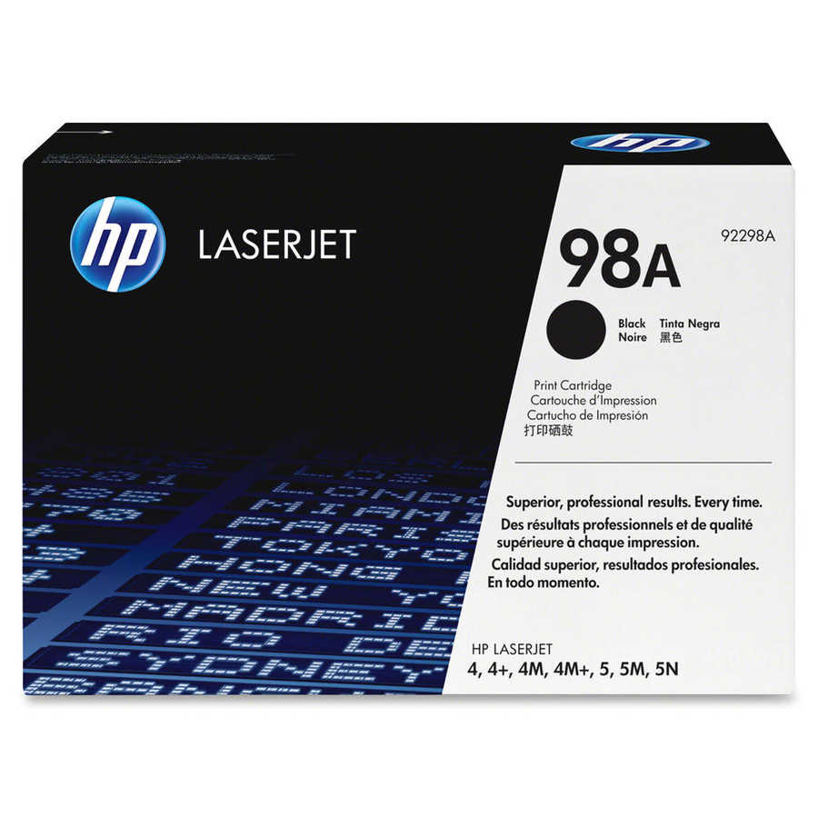 HP 92298A ORİJİNAL SİYAH TONER (98A)