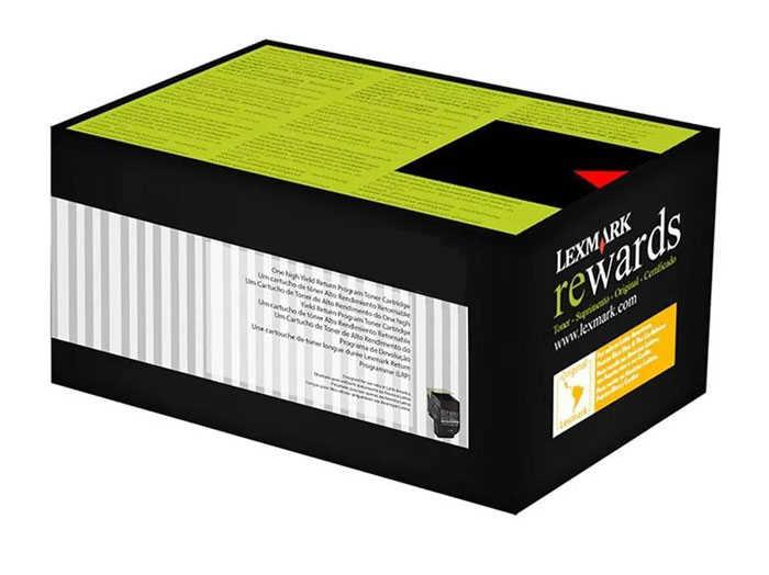Lexmark 70C80K0 Siyah Return Toner 1000 Sayfa