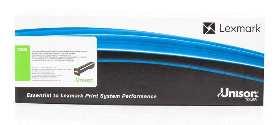 Lexmark 72K5XK0 Siyah Extra Yüksek Kapasite Toner