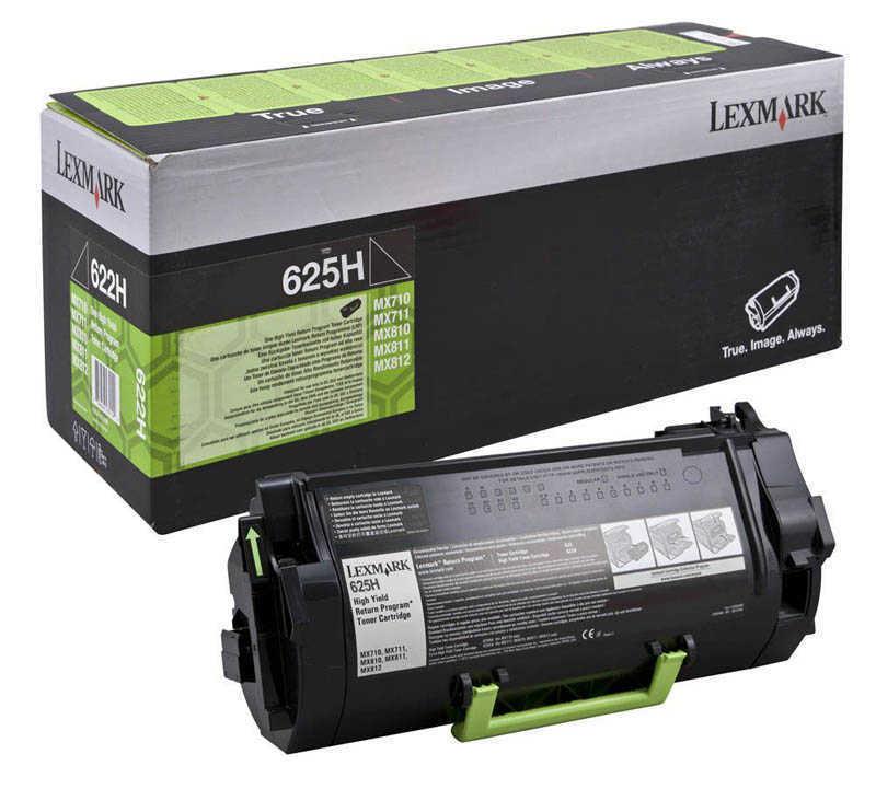 Lexmark 62D5H00 Siyah Return Toner 25000 Sayfa