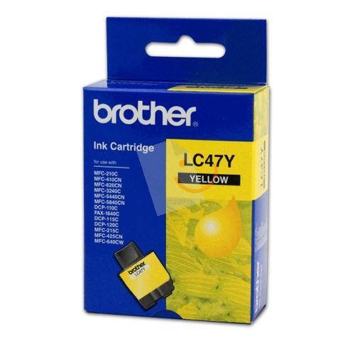 Brother Lc47Y Sarı Mürekkep